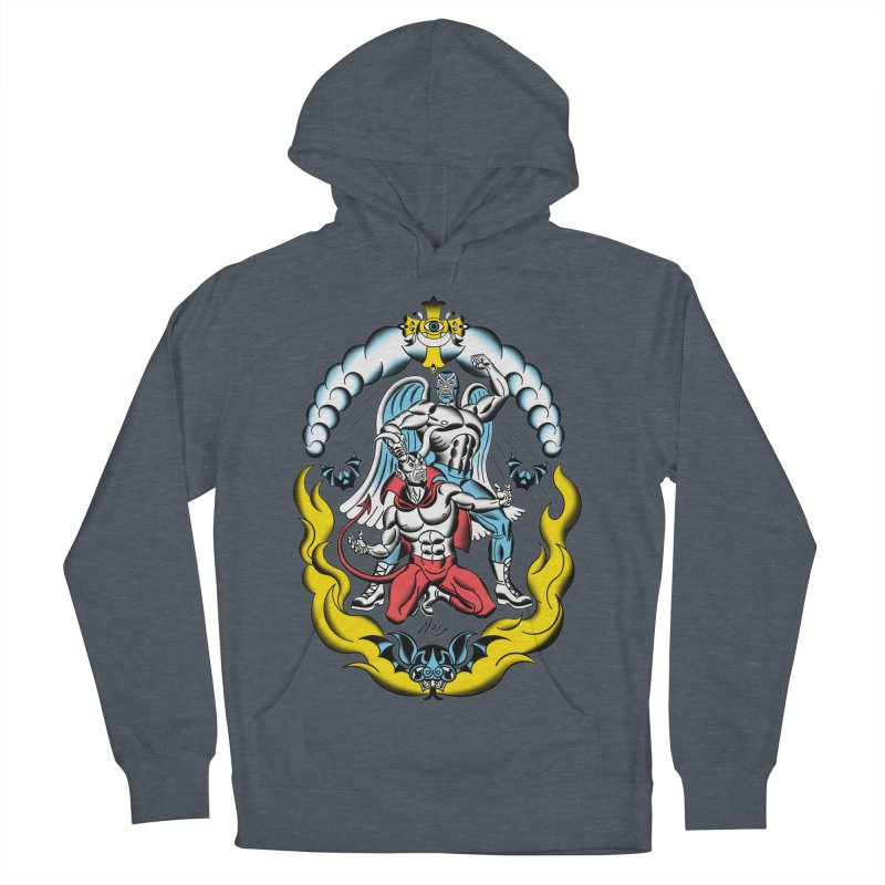 Good Always Triumphs! Women's French Terry Pullover Hoody by Mitch O'Connell
