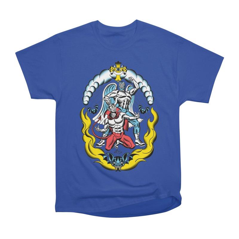 Good Always Triumphs! Men's Heavyweight T-Shirt by Mitch O'Connell