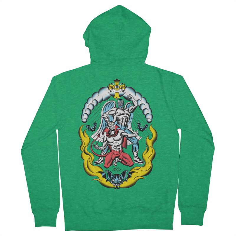 Good Always Triumphs! Women's Zip-Up Hoody by Mitch O'Connell