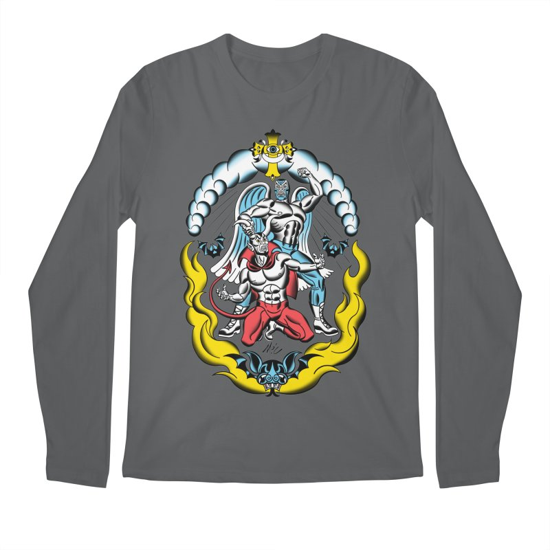 Good Always Triumphs! Men's Longsleeve T-Shirt by Mitch O'Connell