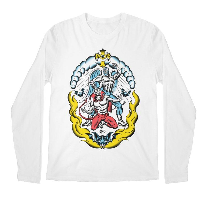 Good Always Triumphs! Men's Regular Longsleeve T-Shirt by Mitch O'Connell