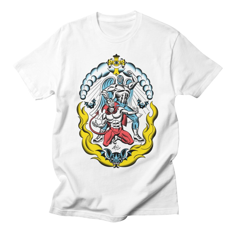 Good Always Triumphs! Men's T-Shirt by Mitch O'Connell