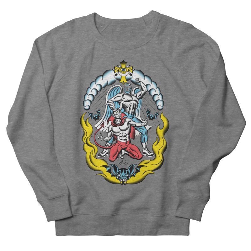 Good Always Triumphs! Women's French Terry Sweatshirt by Mitch O'Connell