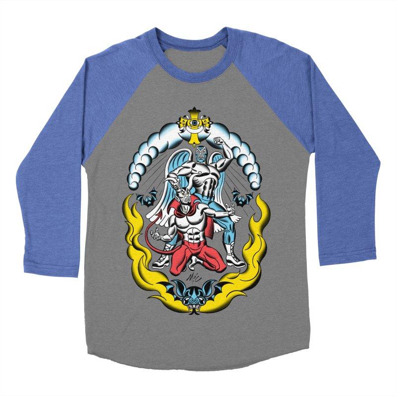 Good Always Triumphs! Men's Baseball Triblend Longsleeve T-Shirt by Mitch O'Connell