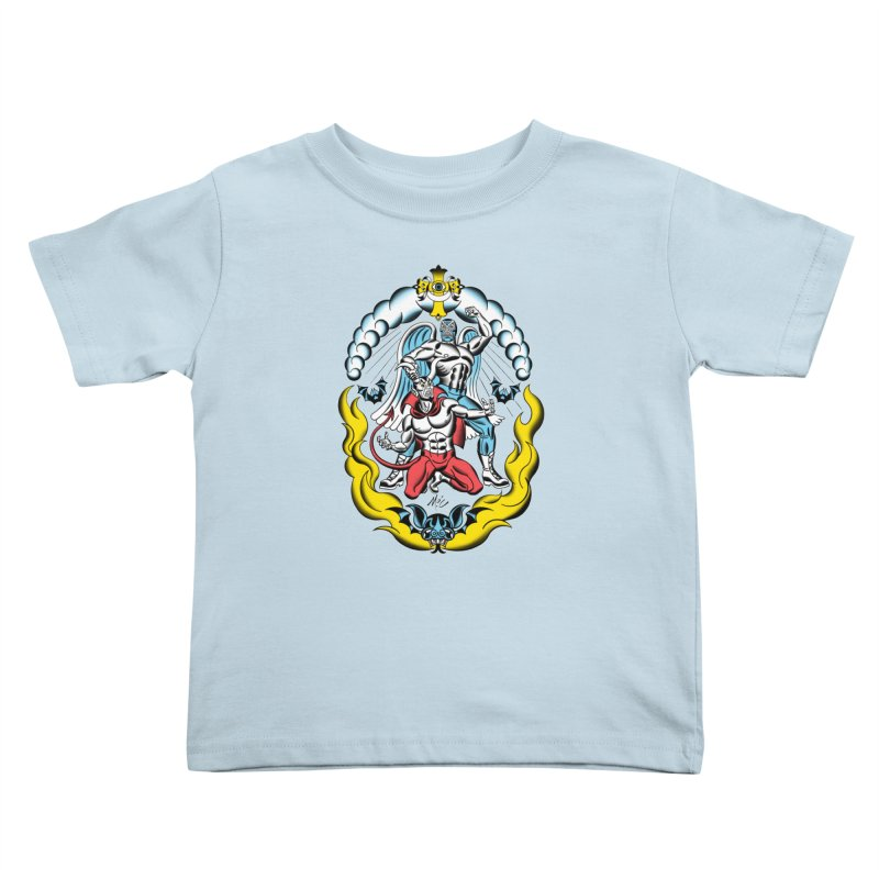 Good Always Triumphs! Kids Toddler T-Shirt by Mitch O'Connell