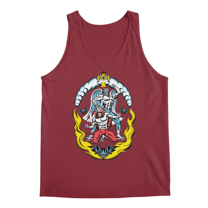 Good Always Triumphs! Men's Tank by Mitch O'Connell