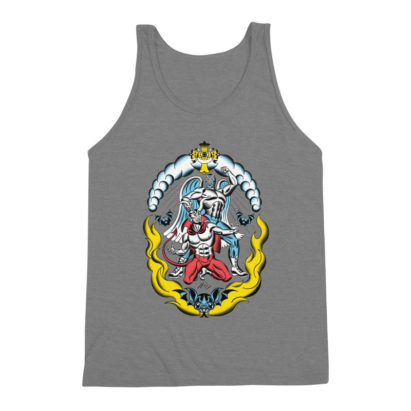 Good Always Triumphs! Men's Triblend Tank by Mitch O'Connell