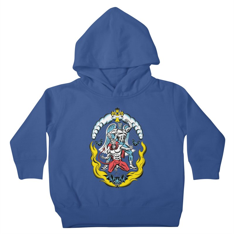 Good Always Triumphs! Kids Toddler Pullover Hoody by Mitch O'Connell