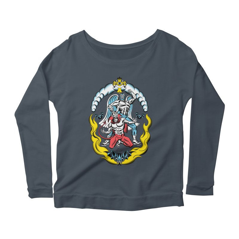 Good Always Triumphs! Women's Scoop Neck Longsleeve T-Shirt by Mitch O'Connell