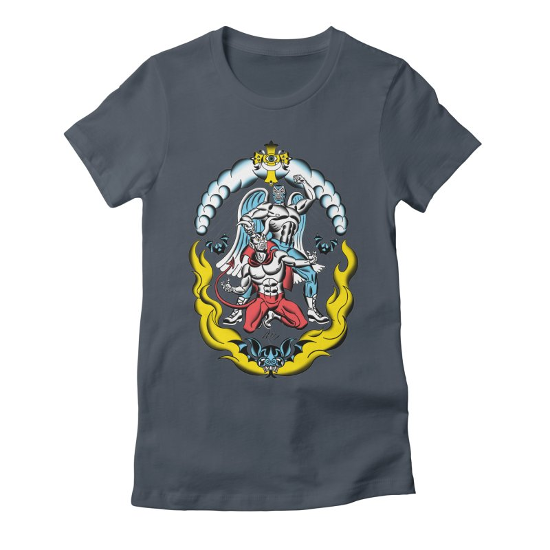 Good Always Triumphs! Women's T-Shirt by Mitch O'Connell
