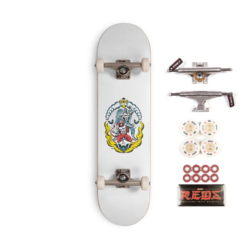Good Always Triumphs! Accessories Complete - Pro Skateboard by Mitch O'Connell