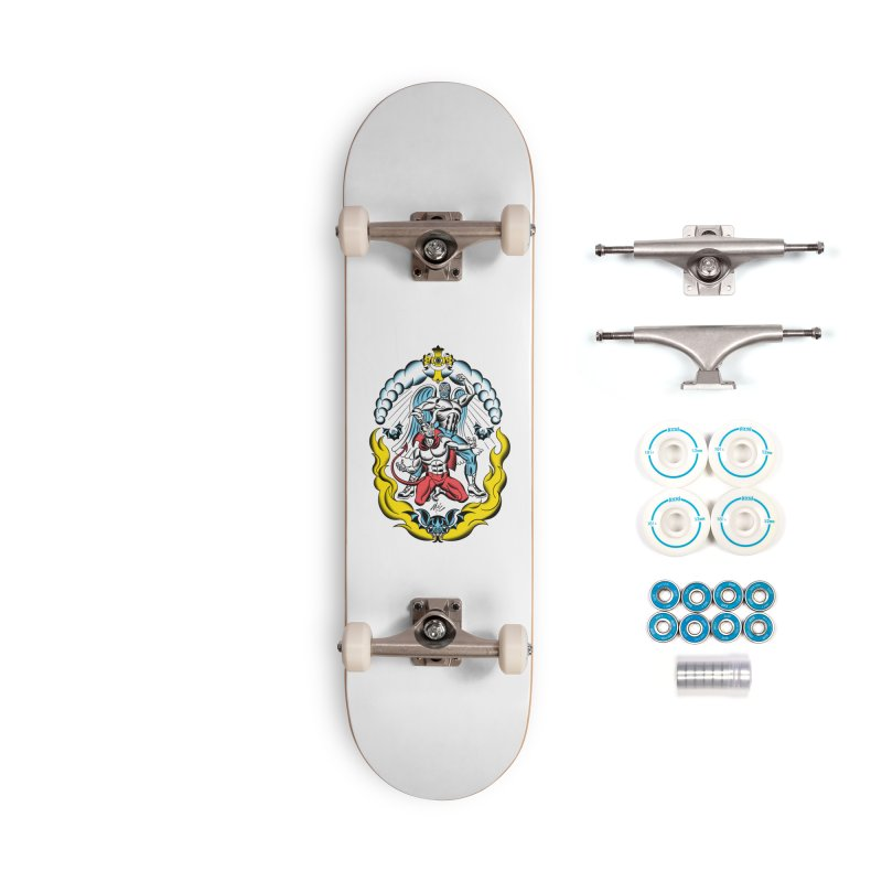 Good Always Triumphs! Accessories Complete - Basic Skateboard by Mitch O'Connell