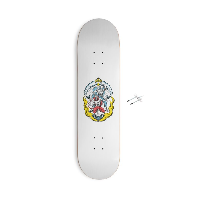 Good Always Triumphs! Accessories With Hanging Hardware Skateboard by Mitch O'Connell