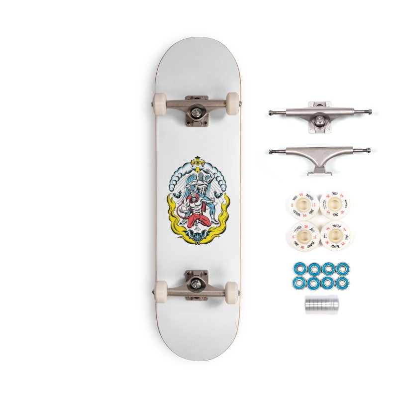 Good Always Triumphs! Accessories Complete - Premium Skateboard by Mitch O'Connell
