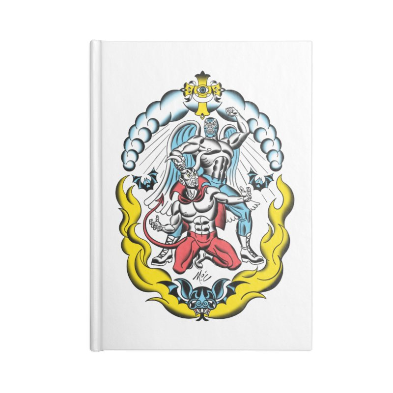 Good Always Triumphs! Accessories Lined Journal Notebook by Mitch O'Connell