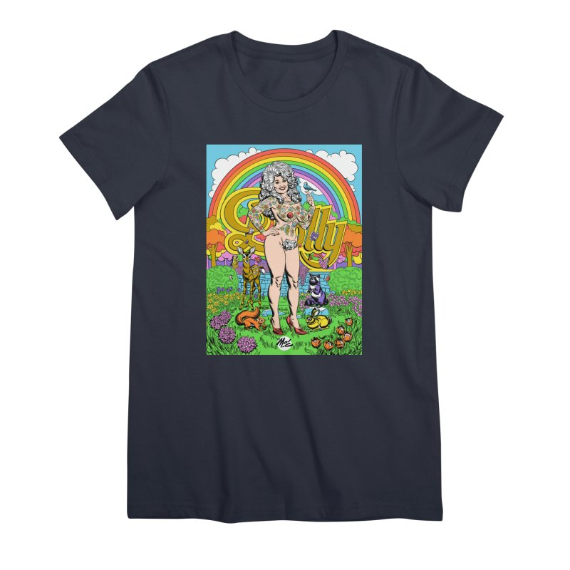 Tattooed Dolly! Women's Premium T-Shirt by Mitch O'Connell