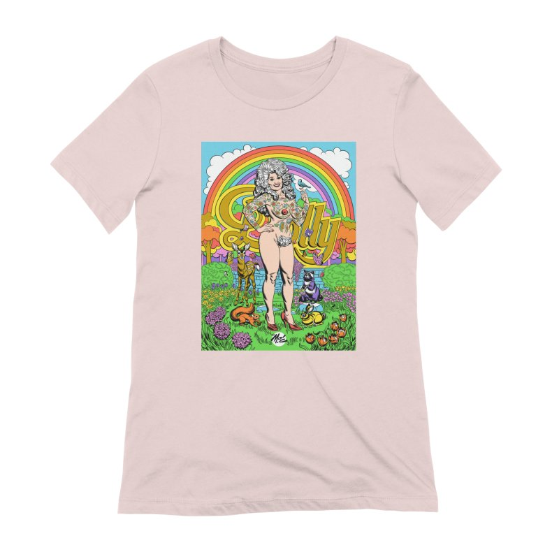 Tattooed Dolly! Women's Extra Soft T-Shirt by Mitch O'Connell