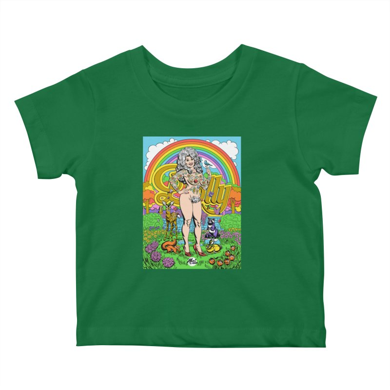 Tattooed Dolly! Kids Baby T-Shirt by Mitch O'Connell