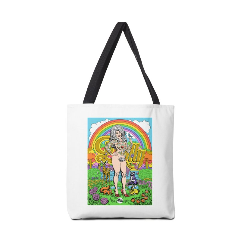 Tattooed Dolly! Accessories Tote Bag Bag by Mitch O'Connell