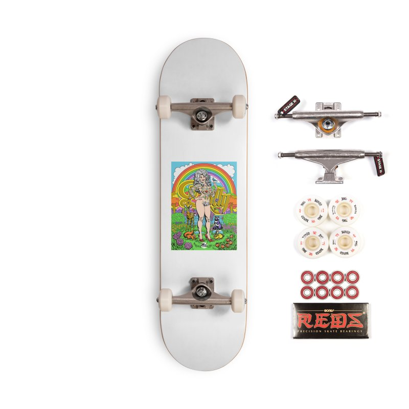 Tattooed Dolly! Accessories Complete - Pro Skateboard by Mitch O'Connell