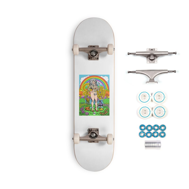 Tattooed Dolly! Accessories Complete - Basic Skateboard by Mitch O'Connell