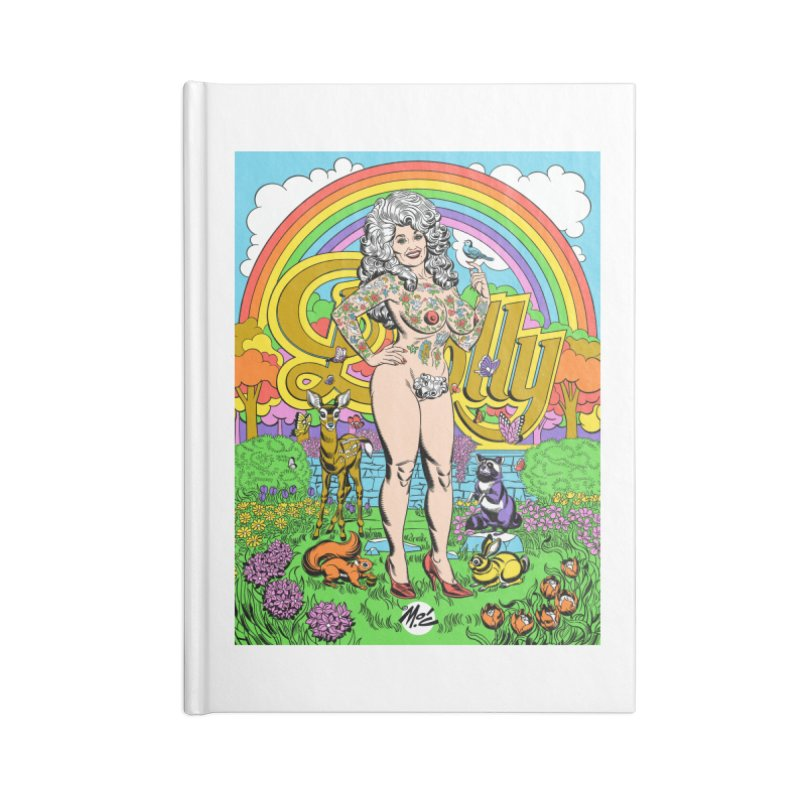 Tattooed Dolly! Accessories Blank Journal Notebook by Mitch O'Connell