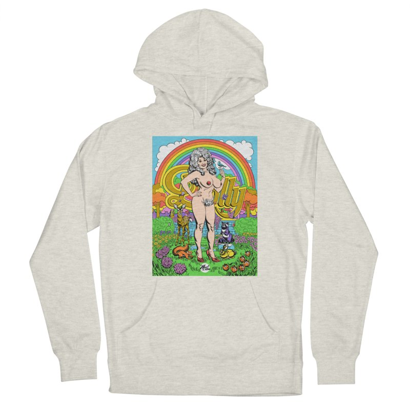 Dolly! Women's French Terry Pullover Hoody by Mitch O'Connell