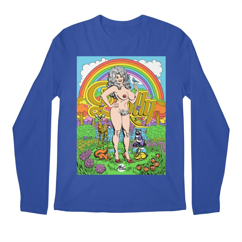 Dolly! Men's Regular Longsleeve T-Shirt by Mitch O'Connell