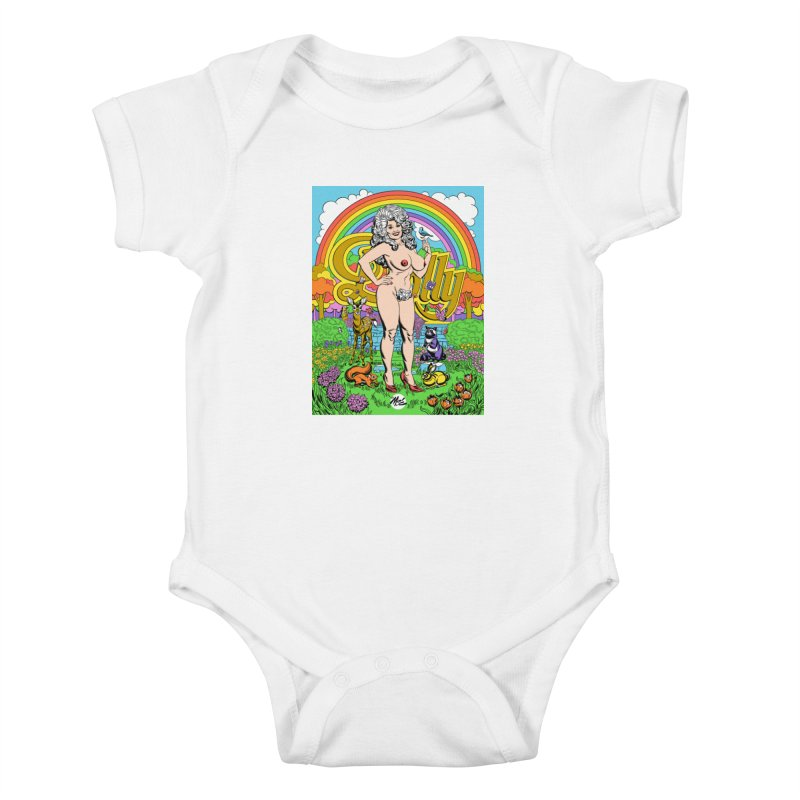 Dolly! Kids Baby Bodysuit by Mitch O'Connell