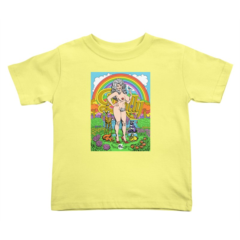 Dolly! Kids Toddler T-Shirt by Mitch O'Connell
