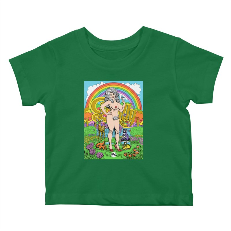 Dolly! Kids Baby T-Shirt by Mitch O'Connell