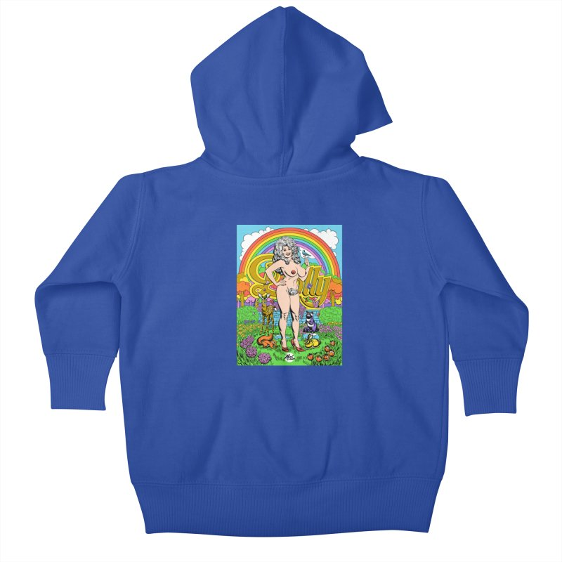 Dolly! Kids Baby Zip-Up Hoody by Mitch O'Connell