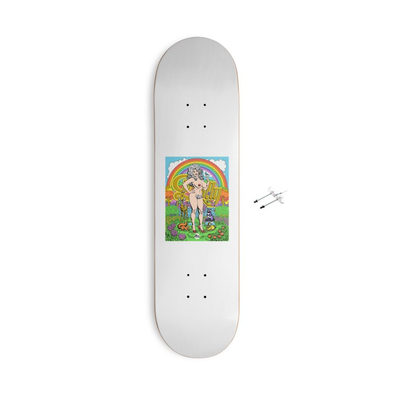 Dolly! Accessories With Hanging Hardware Skateboard by Mitch O'Connell