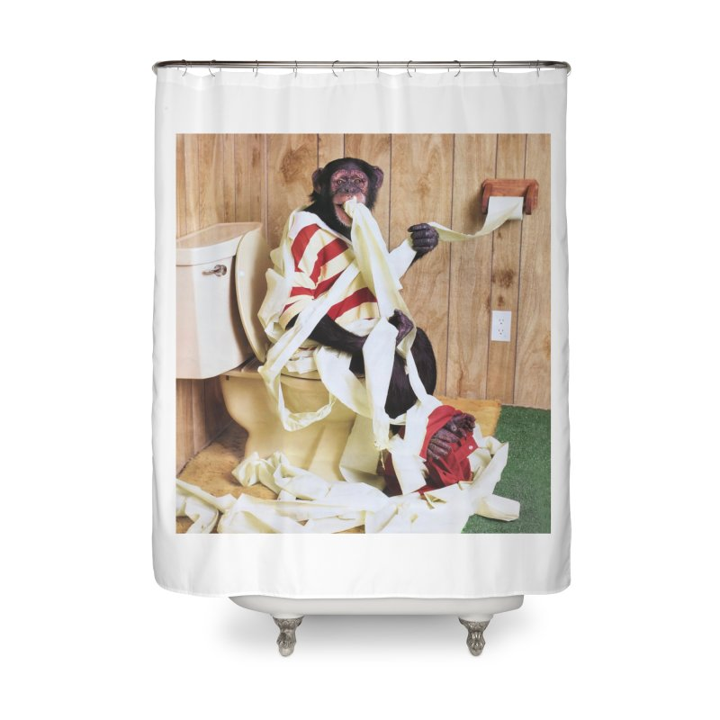 m Home Shower Curtain by Mitch O'Connell