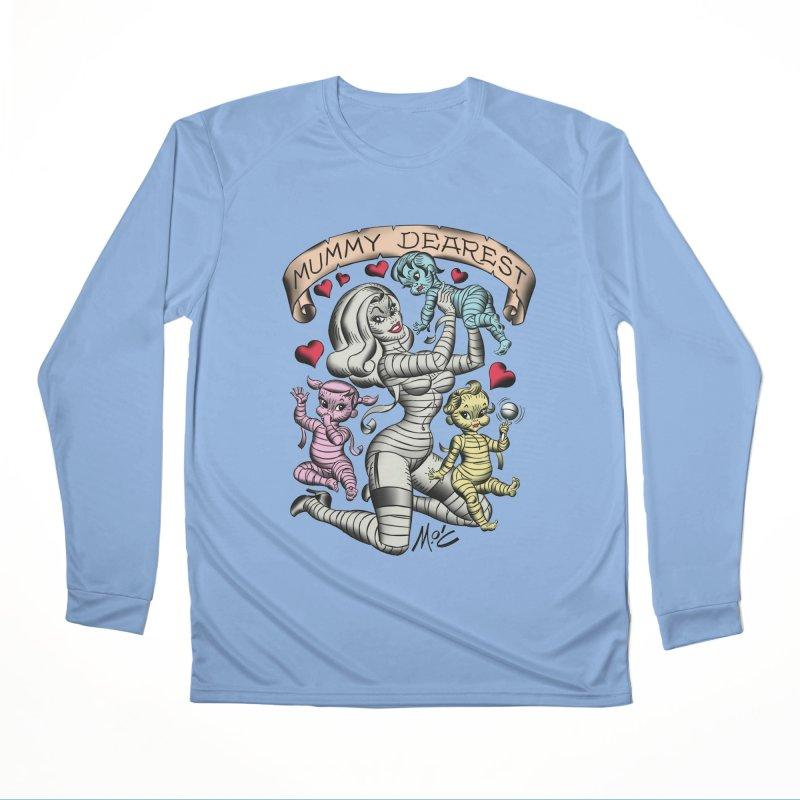 Mummy Dearest Men's Longsleeve T-Shirt by Mitch O'Connell