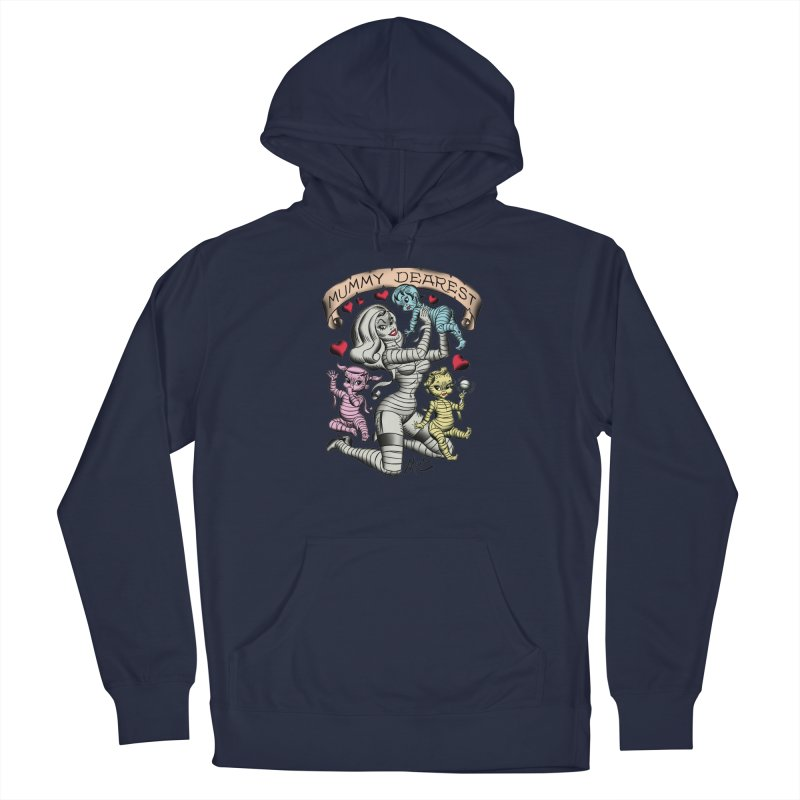 Mummy Dearest Men's Pullover Hoody by Mitch O'Connell