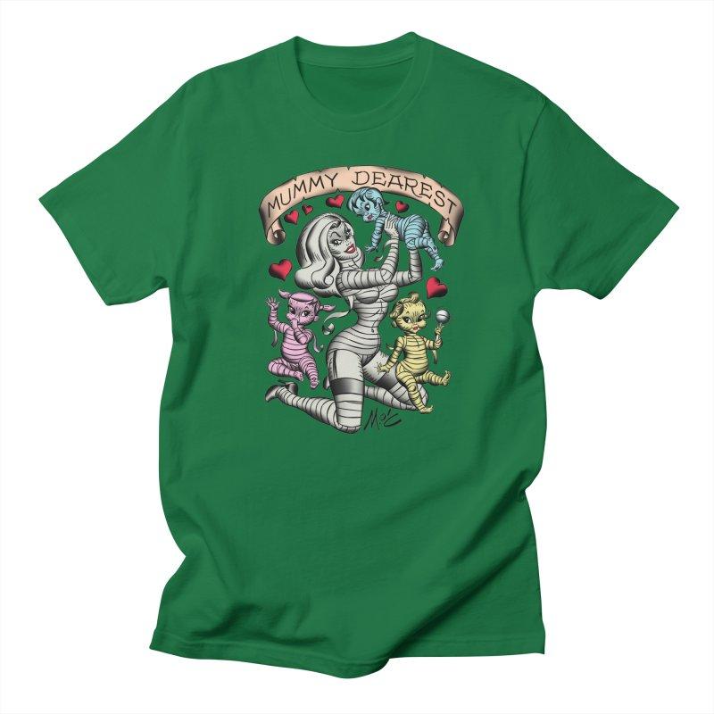 Mummy Dearest Men's T-Shirt by Mitch O'Connell