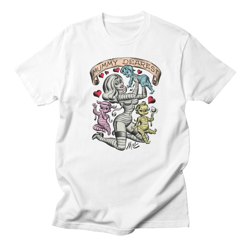 Mummy Dearest Men's T-Shirt by Mitch O'Connell
