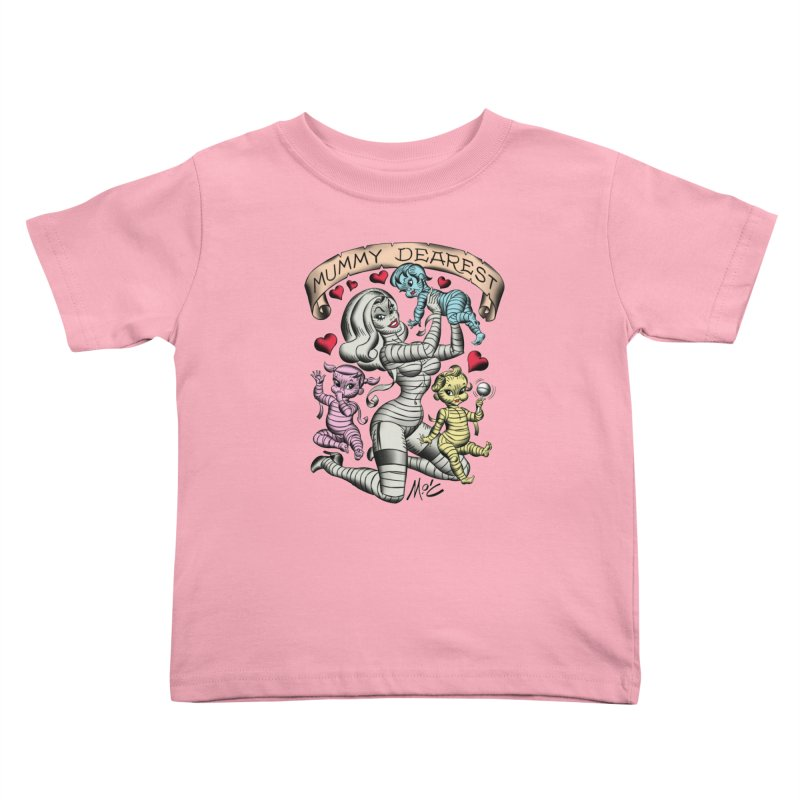 Mummy Dearest Kids Toddler T-Shirt by Mitch O'Connell