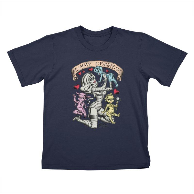 Mummy Dearest Kids T-Shirt by Mitch O'Connell