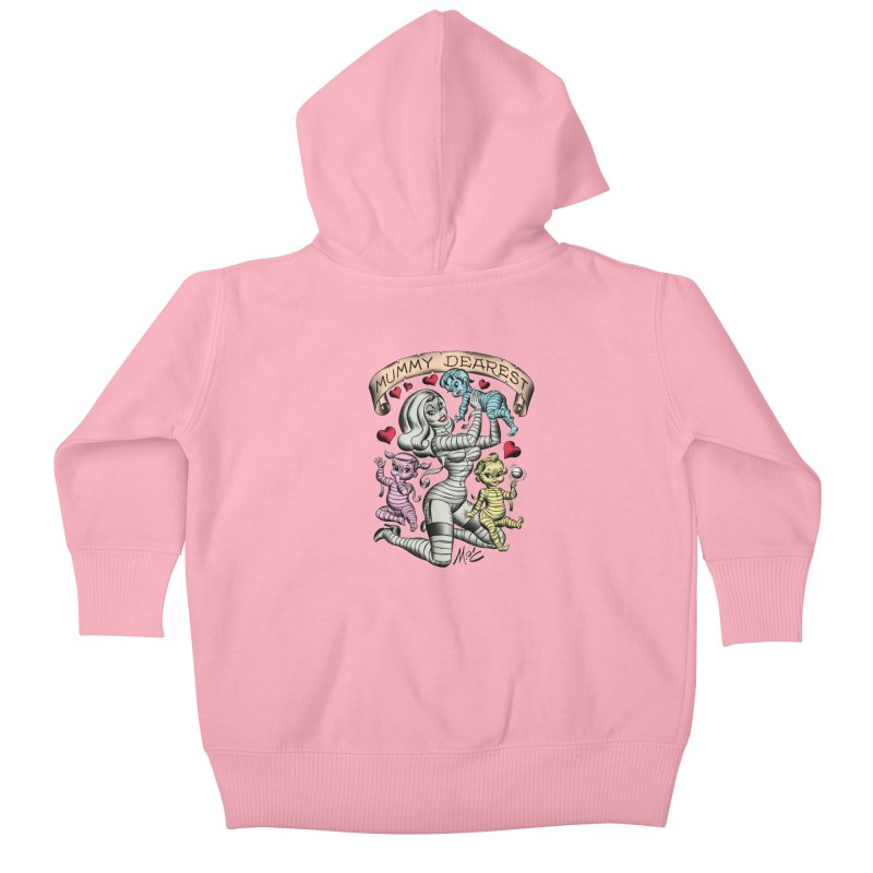Mummy Dearest Kids Baby Zip-Up Hoody by Mitch O'Connell