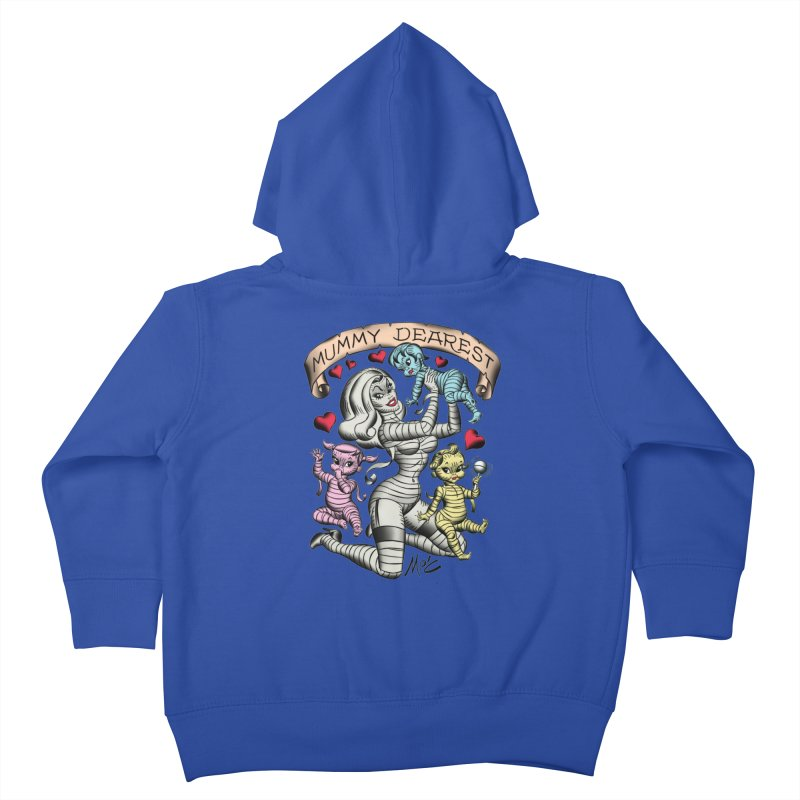 Mummy Dearest Kids Toddler Zip-Up Hoody by Mitch O'Connell