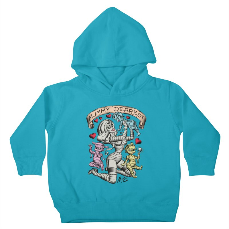 Mummy Dearest Kids Toddler Pullover Hoody by Mitch O'Connell