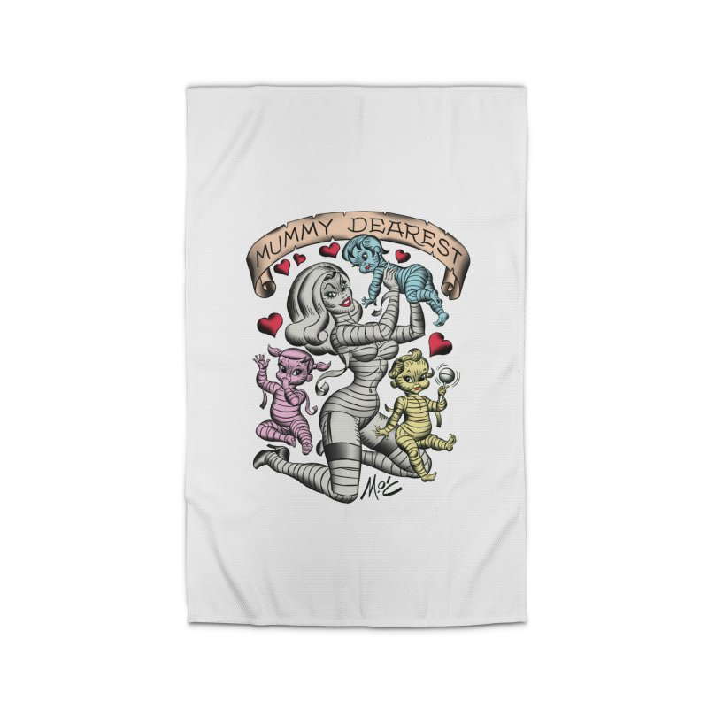 Mummy Dearest Home Rug by Mitch O'Connell