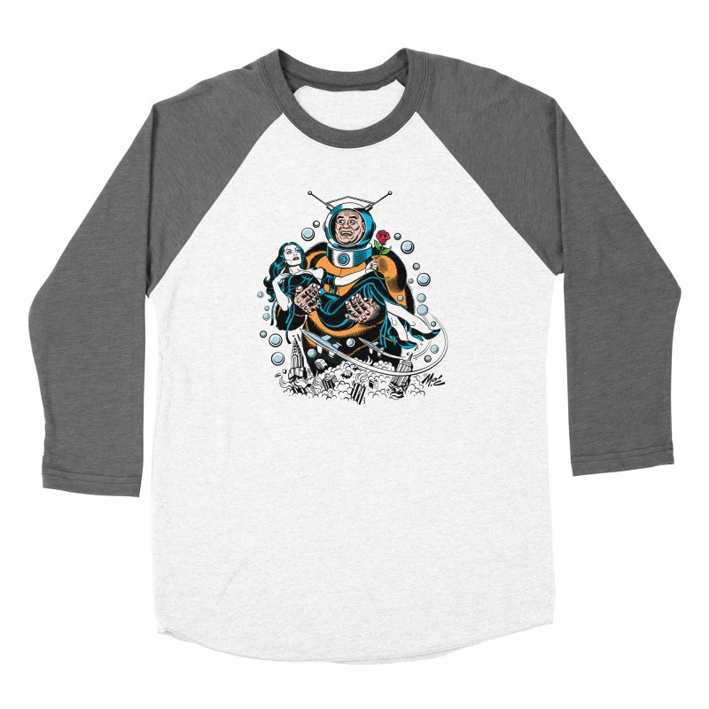 When A Ro-Man Loves A Wo-Man! Women's Longsleeve T-Shirt by Mitch O'Connell