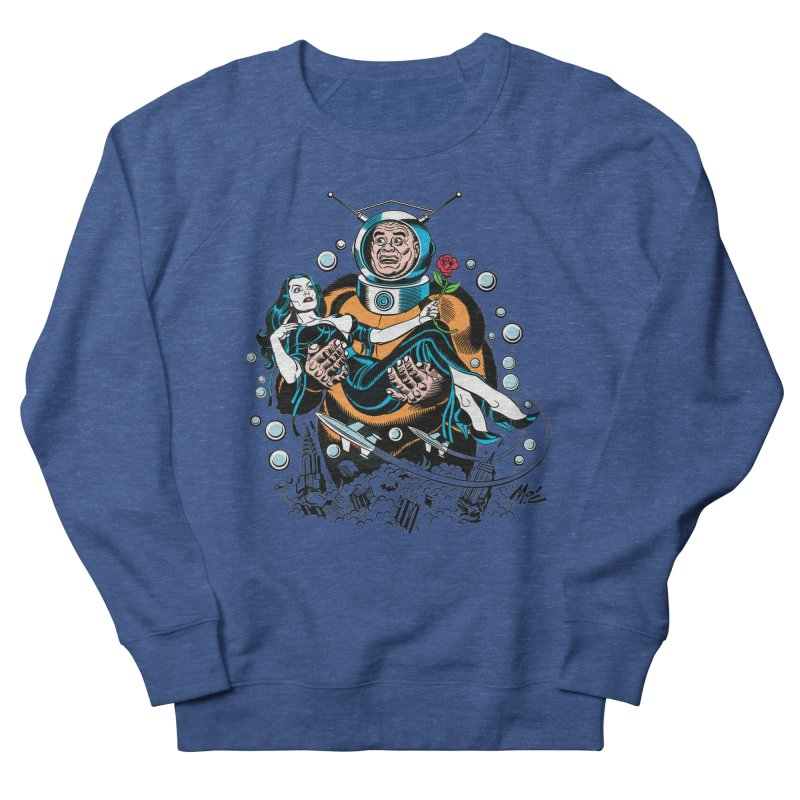 When A Ro-Man Loves A Wo-Man! Men's Sweatshirt by Mitch O'Connell