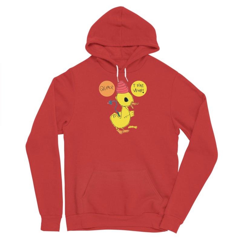 Quack That Whip! Men's Pullover Hoody by Mitch O'Connell