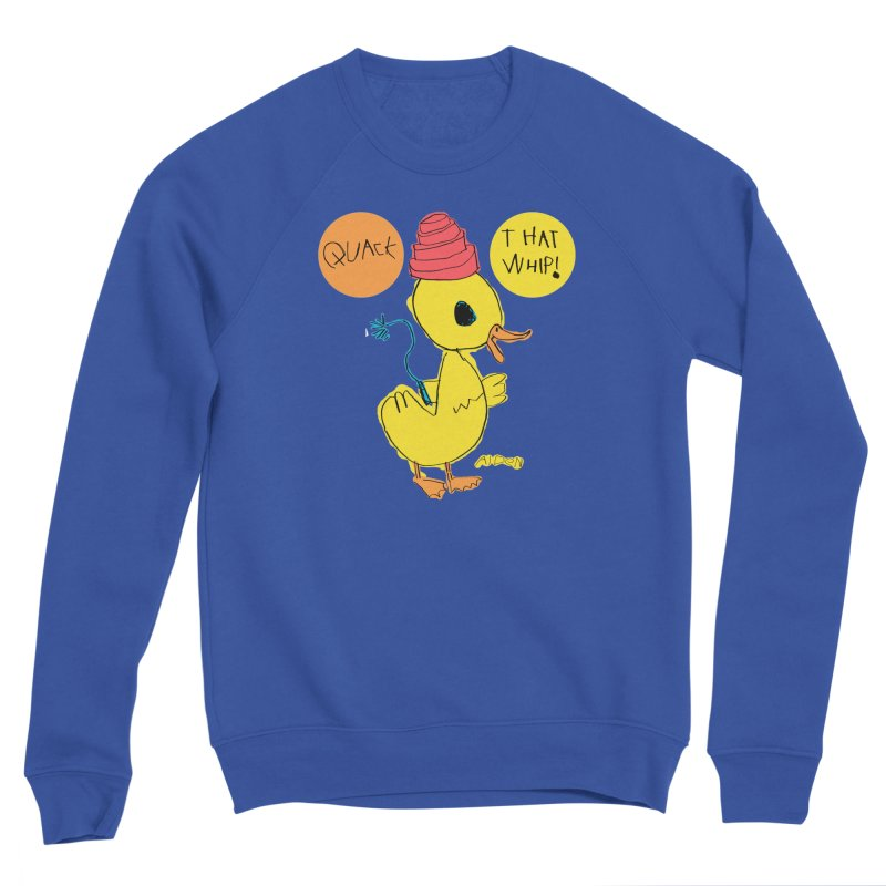 Quack That Whip! Women's Sweatshirt by Mitch O'Connell