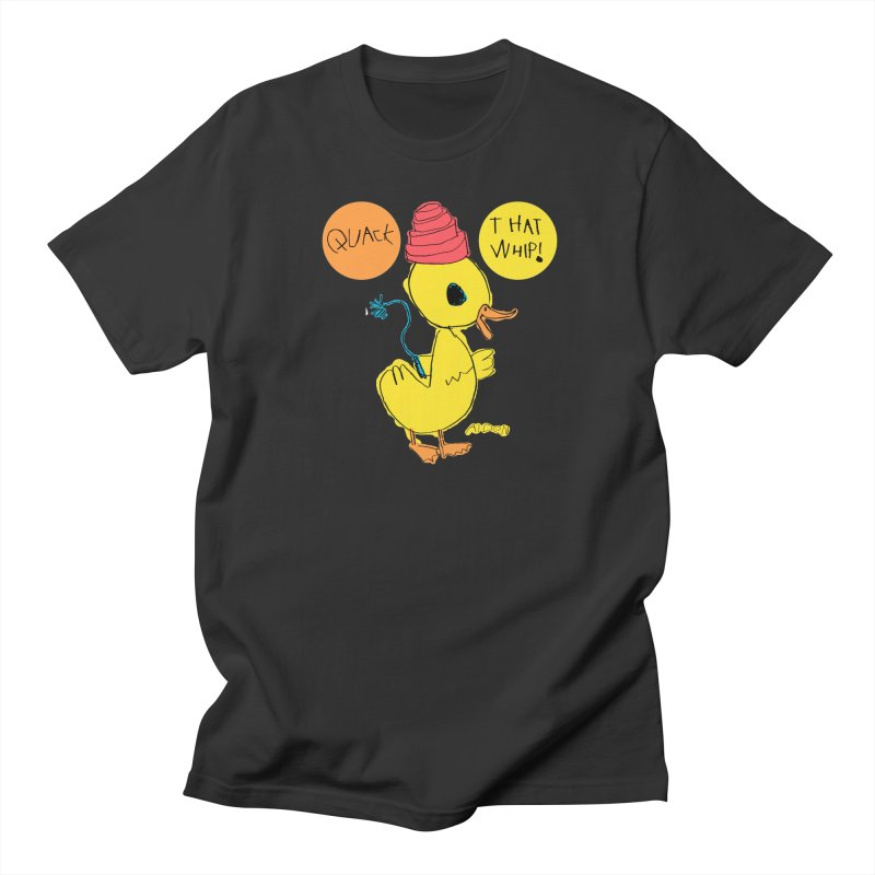 Quack That Whip! Men's T-Shirt by Mitch O'Connell