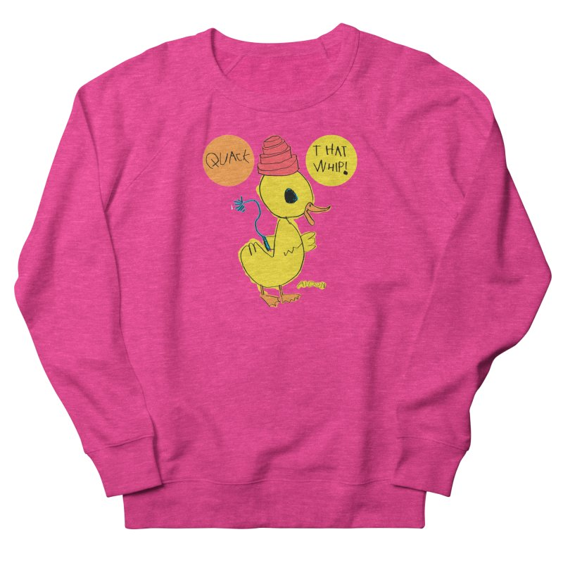 Quack That Whip! Men's Sweatshirt by Mitch O'Connell